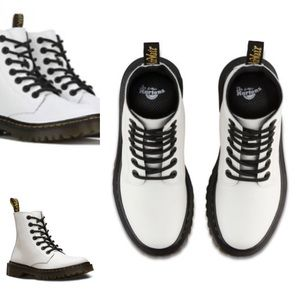 Dr. DOC Martens Luana Leather Ankle Combat Boots
